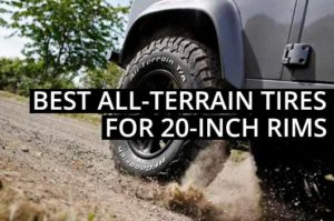 What are the best all-terrain tires for 20-inch rims?