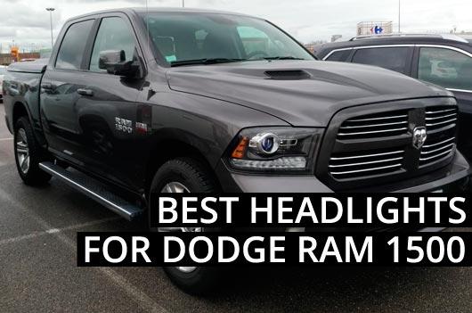 Best Headlights for Dodge RAM 1500