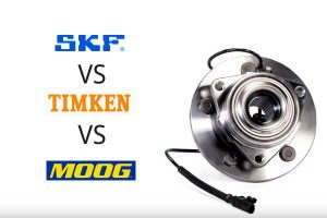 SKF vs Timken vs MOOG