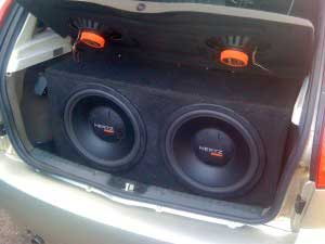 Make a quality subwoofer for the car DIY