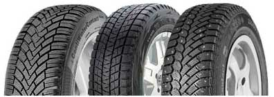 Winter tires types